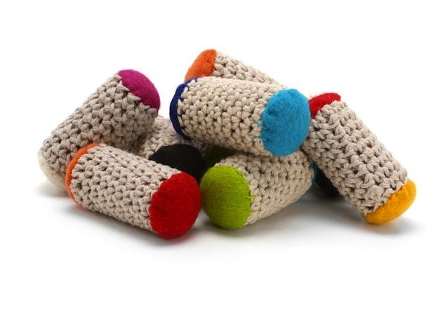 Bamboleos recycled cork cat toys by Modern Cat
