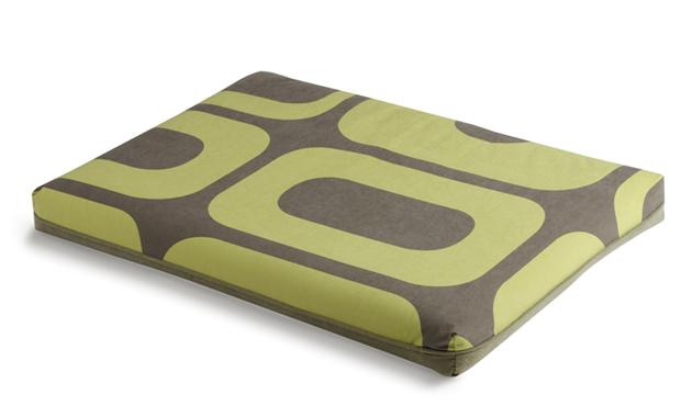 Crypton's Modblock Futon Dog Bed in Bright Green, £102 - £143
