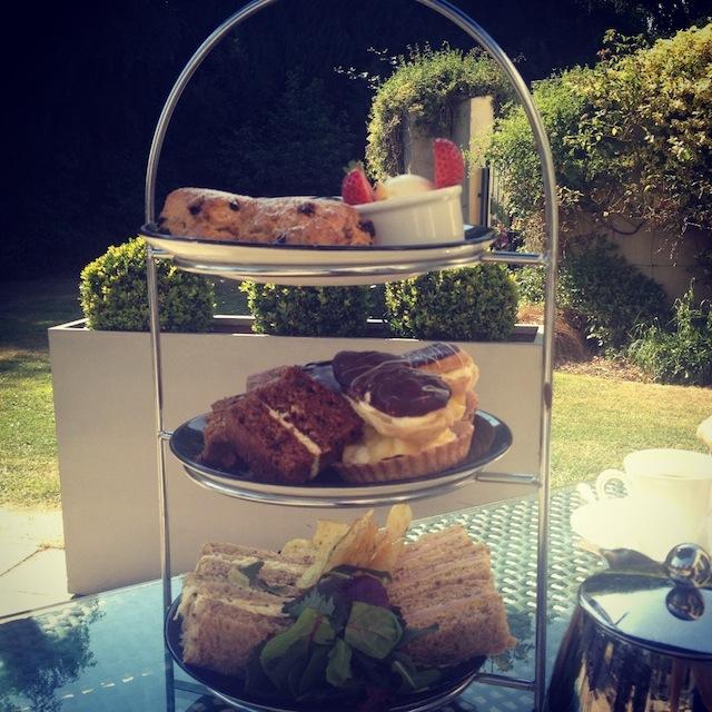 Afternoon Tea Bishopstrow Hotel Wiltshire