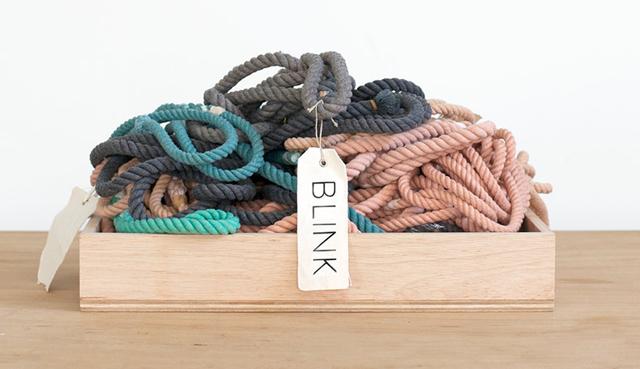 Blink Hand Dyed Sailing Rope Dog Leashes
