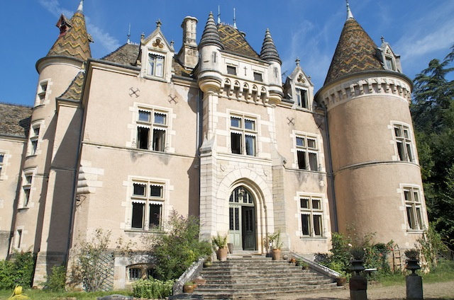 Pet Friendly Chateau de Burnand, Burgundy, France