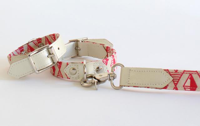 Fair Trade designer dog collars by Hiro + Wolf