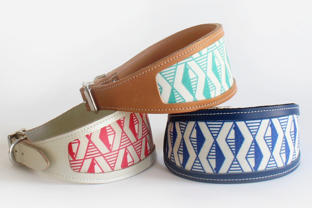 Grehound and whippet collars handmade
