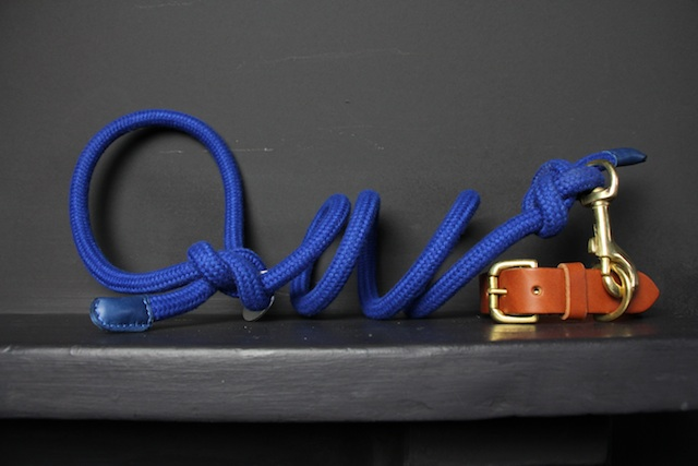 Knotted Sailing Rope Dog Lead by Bone & Rag