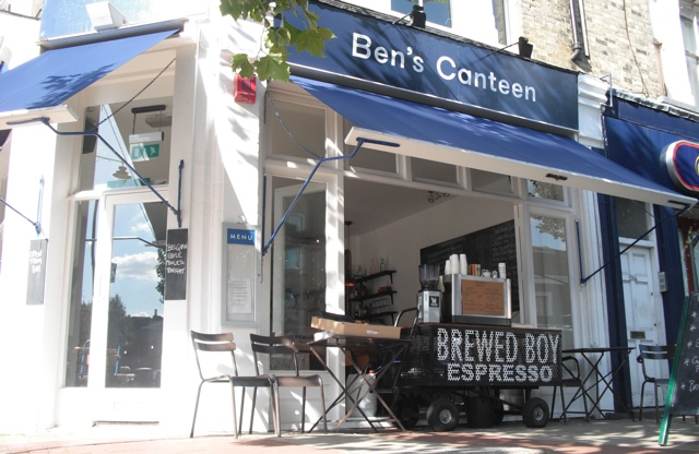 ben's canteen battersea london dog friendly restaurant and cafe