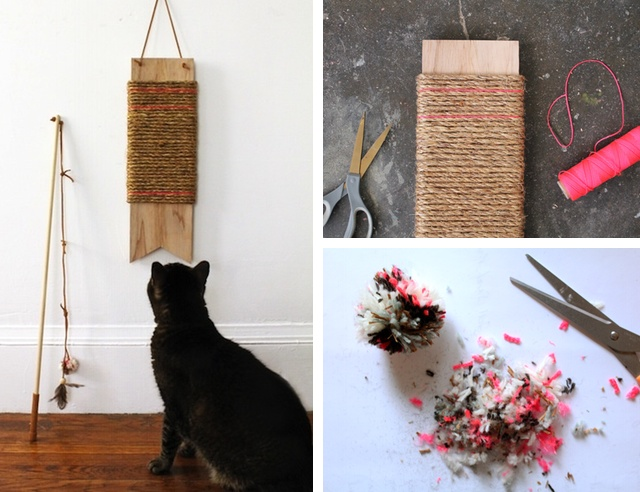 Trends 8 Cool Diy Projects And Hacks For Cats Styletails