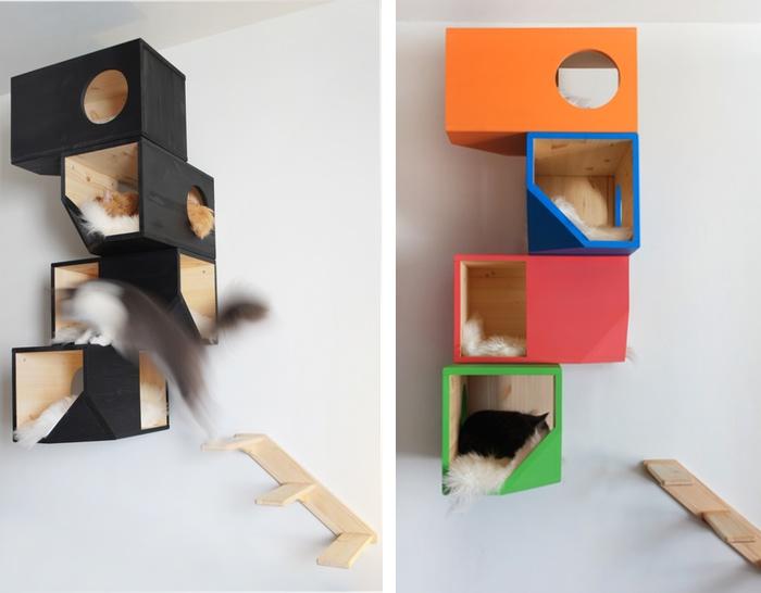 designer cat tower by catissa