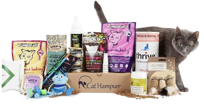 Cat Hampurr Cat Subscription Box