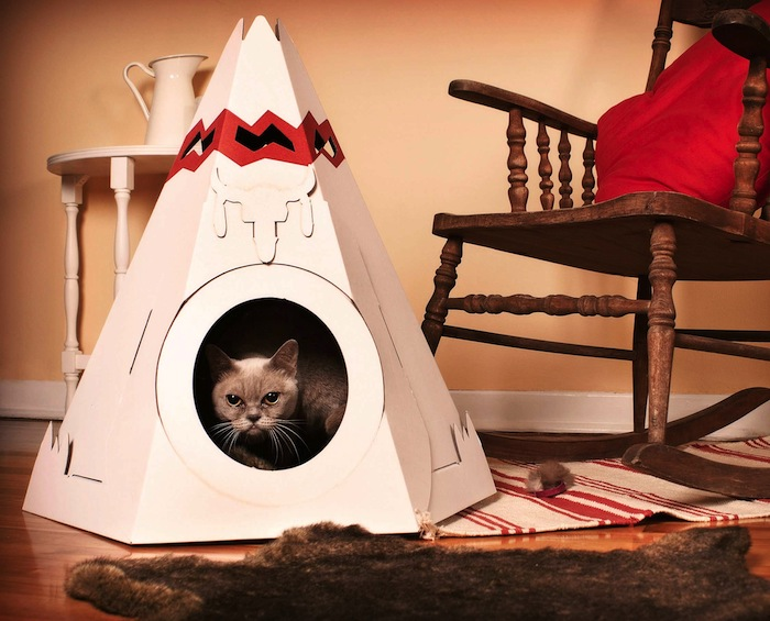 Native American Cat Tipi by Loyal Luxe