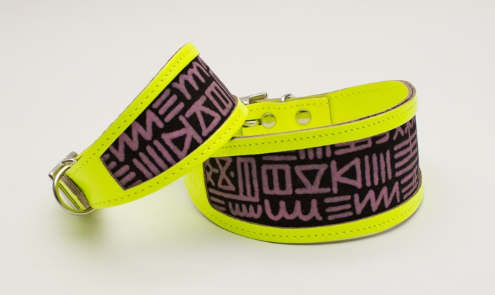 stylish whipped and greyhound collars hiro and wolf