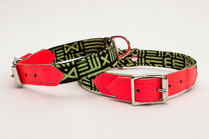 funky dog collar by hiro and wolf kate moross
