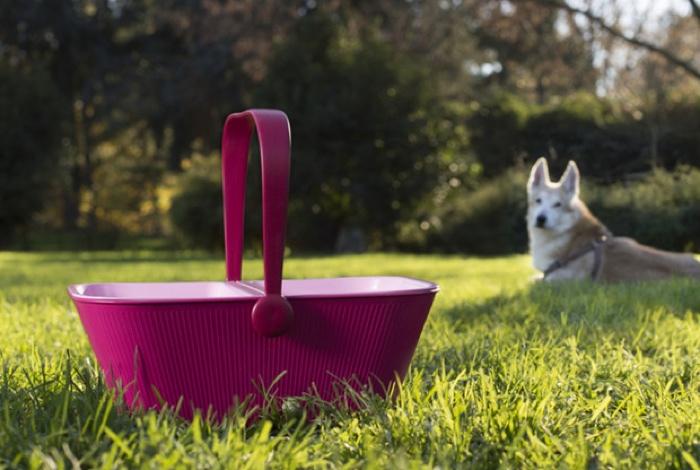 ALESSI PETNIC DOG TRAVEL BOWLS