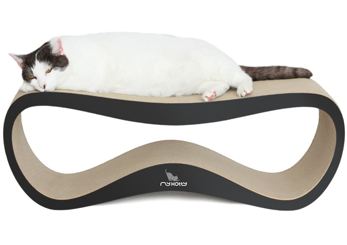 CARDBOARD CAT SCRATCHERS AND CAT LOUNGERS BY MY KOTTY