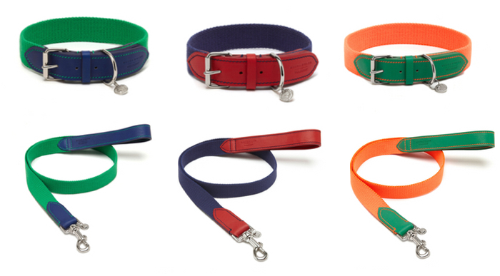 mungo and maud mulberry dog collars and leads