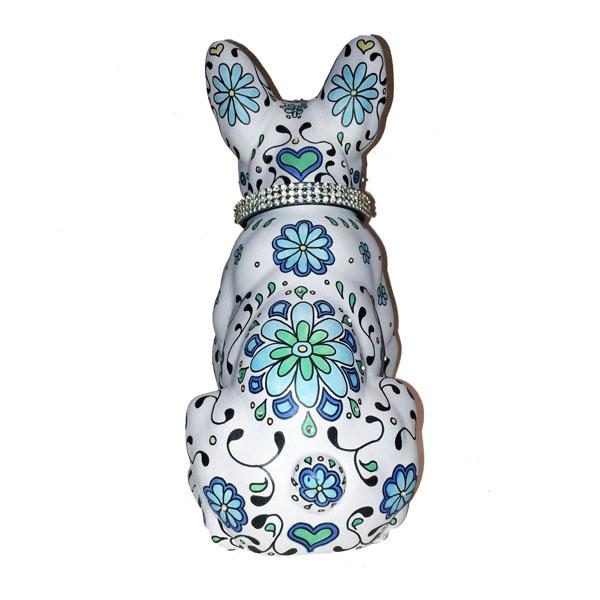 marlene's gang custom dog ornament