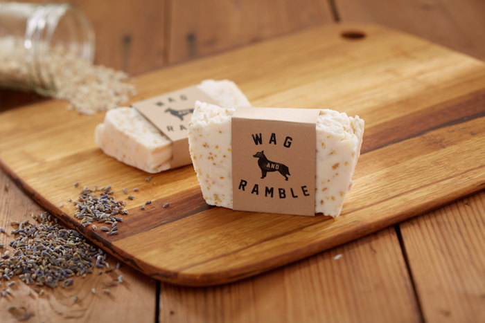 natural dog soap wag and ramble