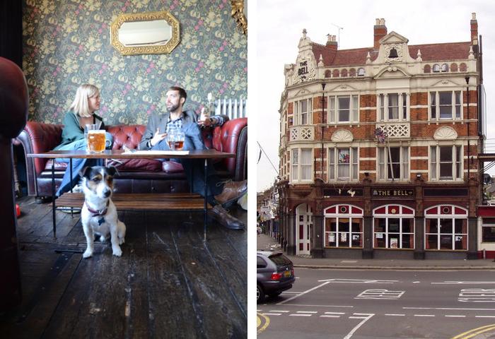 The Bell Pub Walthamstow London dog friendly