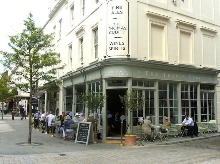 thomas cubitt dog friendly pub london