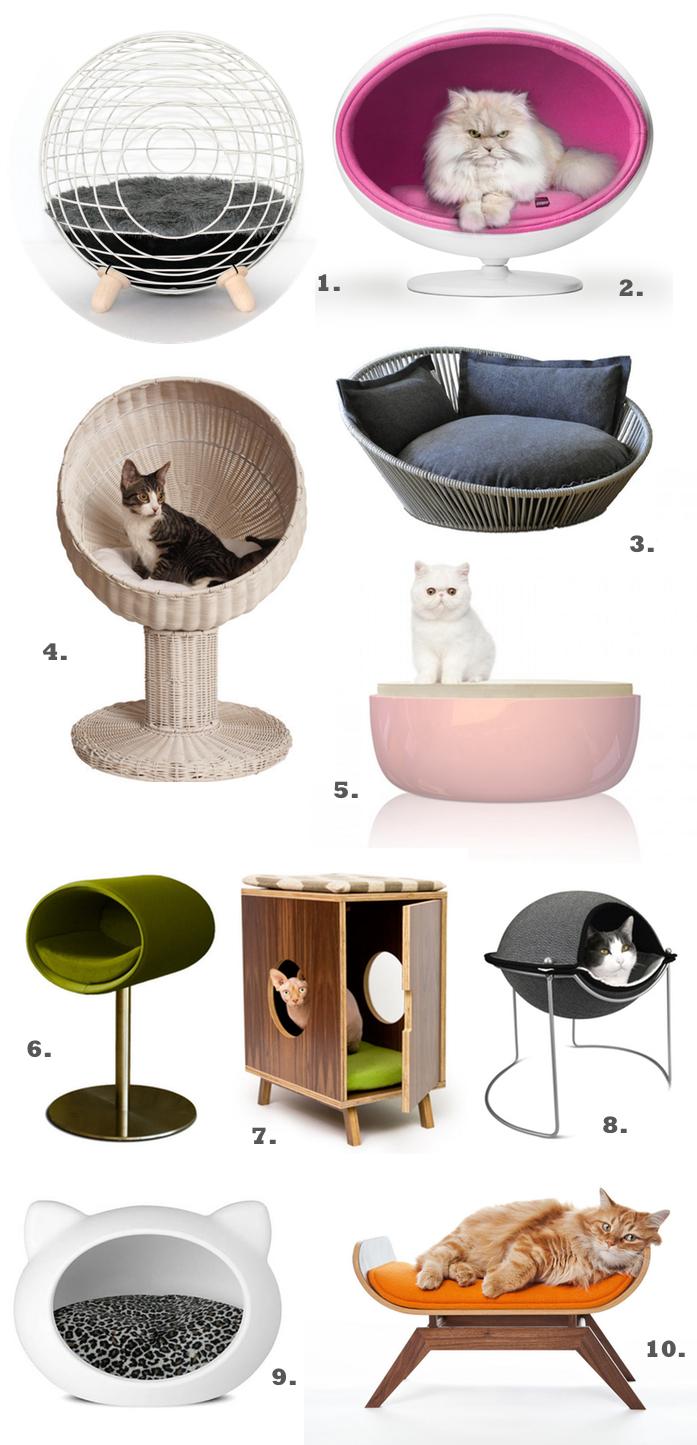 Trends 10 Luxury Cat Beds Amp Designer Furniture Styletails