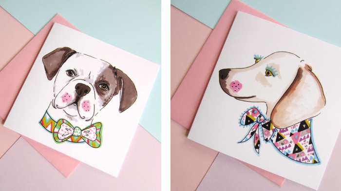 Dolled up dogs by studio legohead jo chambers