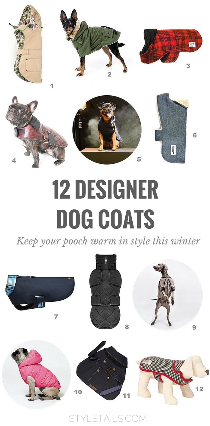 12 of the best designer dog coats