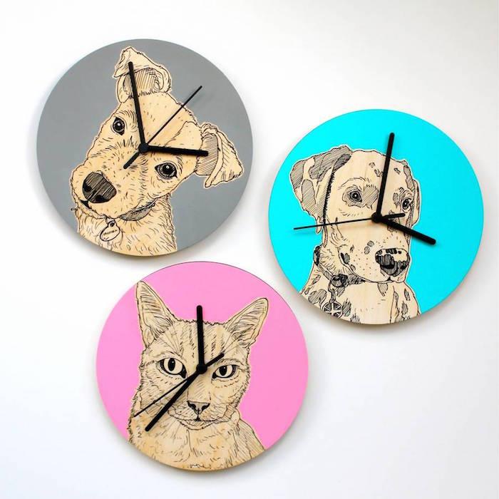 dog_portrait_clock