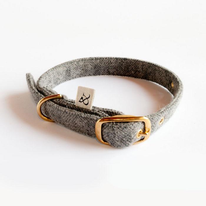 grey_wool_dog_collar