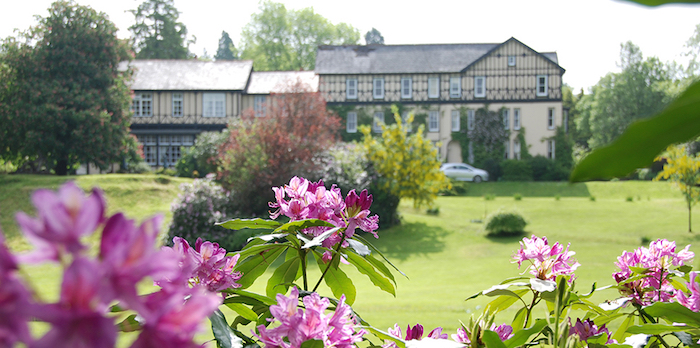 Lake country house hotel spa wales dog friendly