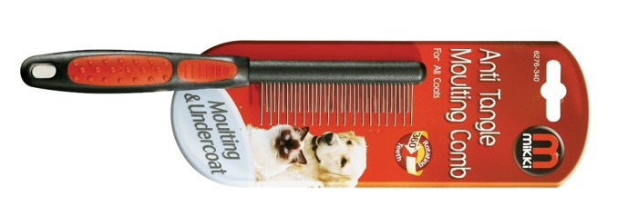 mikki moulting comb for cats