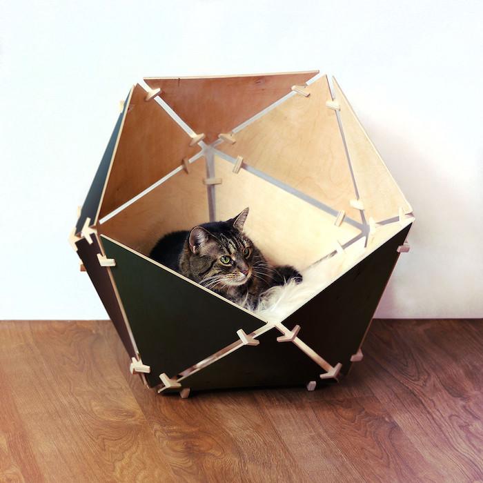 catissa luxury geobed cat cave