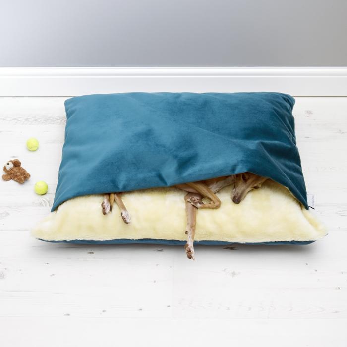 Charley Chau Snuggle Bed in Velour