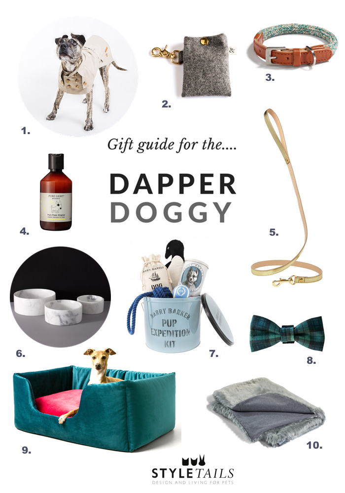 gift guide for the dapper dog