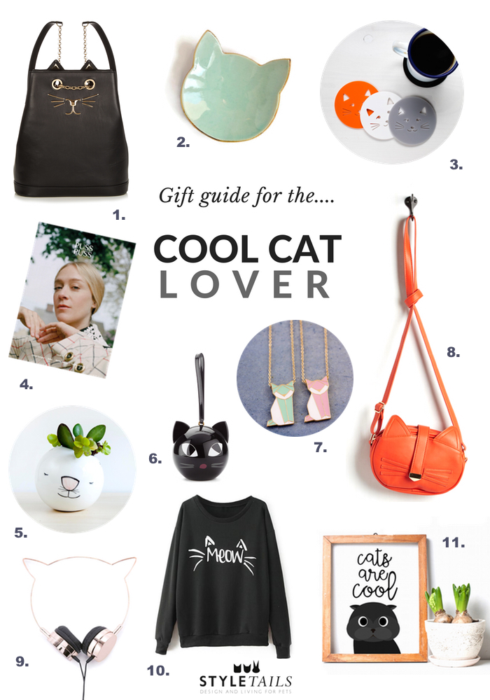 stylish gifts for cat lovers  sc 1 st  StyleTails & 11 Gift Ideas for Stylish Cat Lovers | STYLETAILS