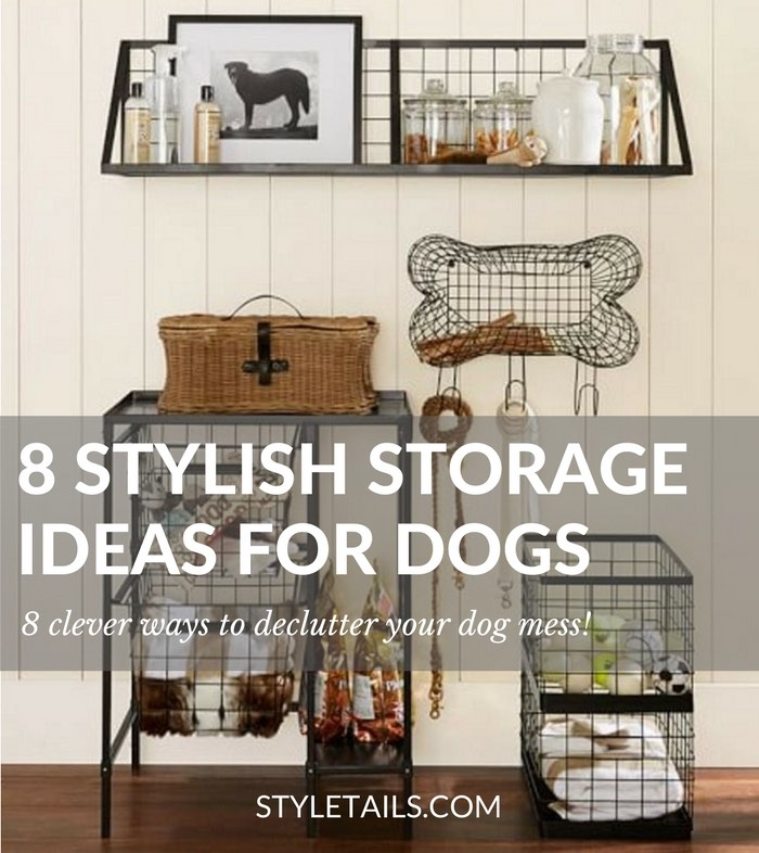 dog storage furniture. 8 Stylish Storage And Decluttering Ideas For Dogs Dog Furniture