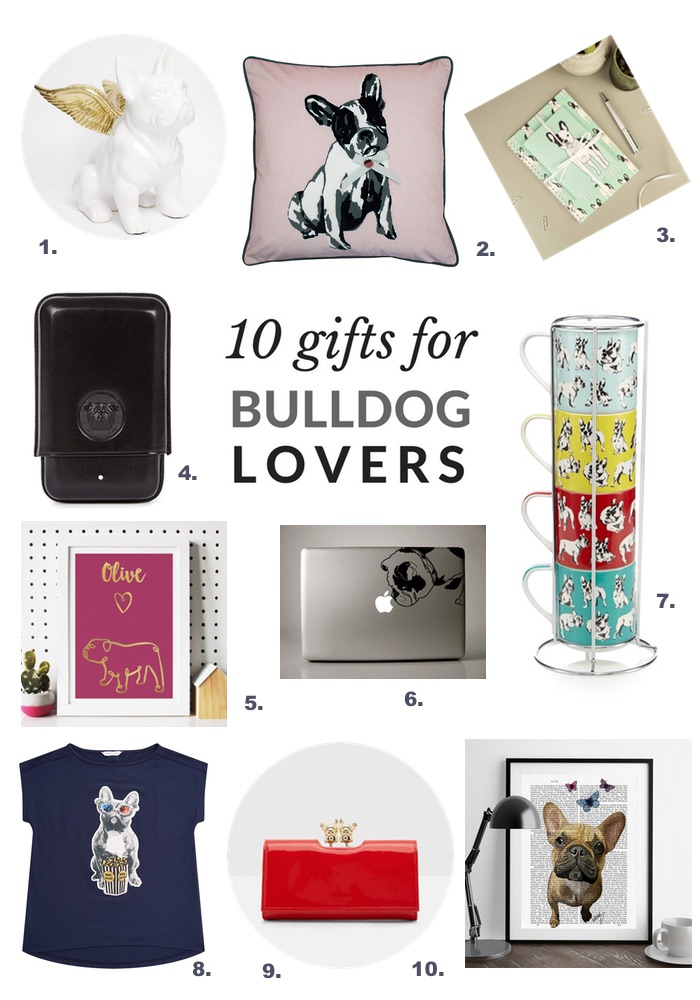 gorgeous gifts for bulldog lovers