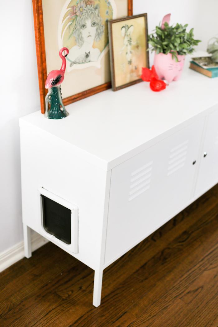 Ikea Hack Cat Litter Box Cabinet
