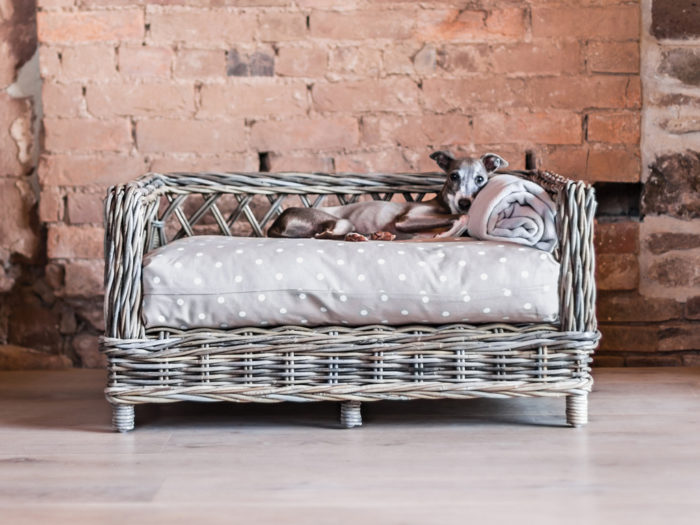Raised Rattan Dog Bed Charley Chau
