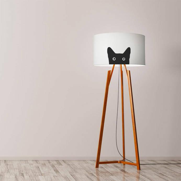 cat lamp etsy