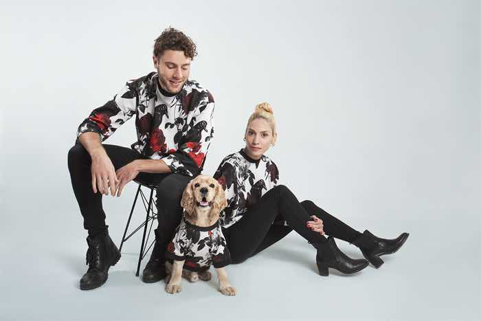 coucou wear matching fashion dogs and owners