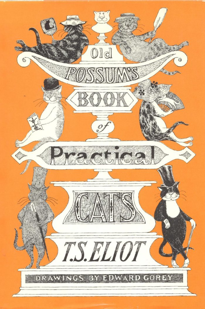 OLD POSSUM'S BOOK OF PRACTICAL CATS BY T.S ELIOT