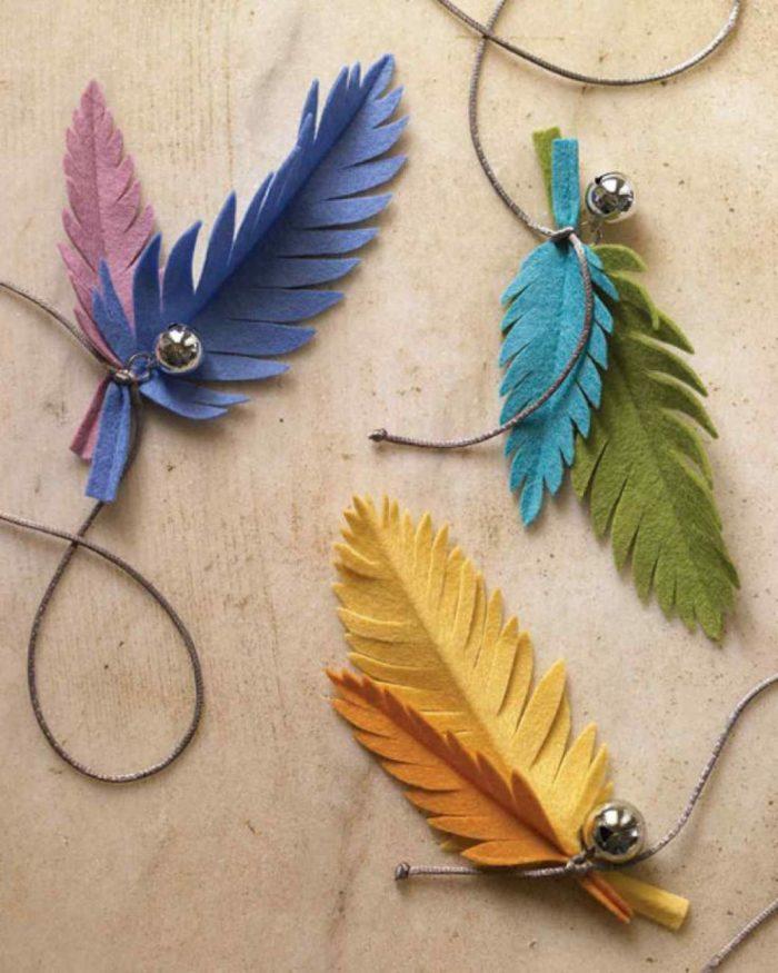 Feather toys Martha Stewart
