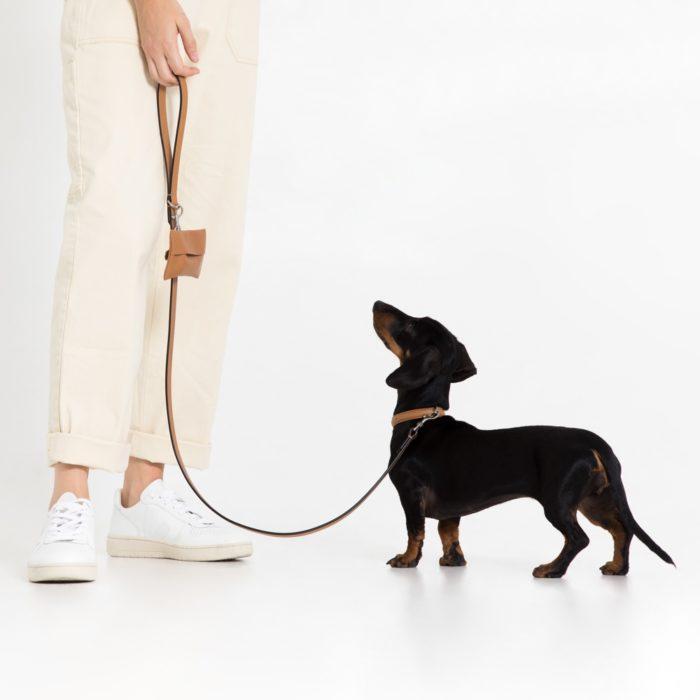 Growlmama camel dog lead