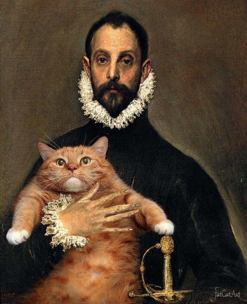 Fat Cat Art Instagram